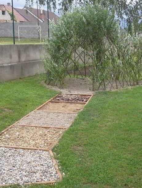 Variabilní design vrbových staveb