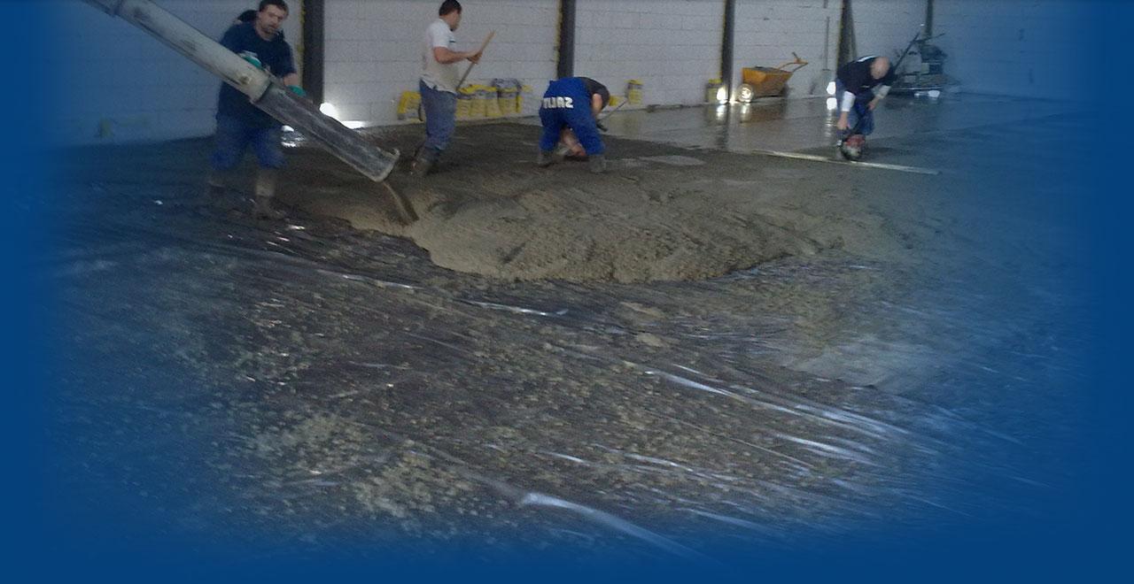 Speciální lité či štěrkové epoxidové a PUR podlahy, Nové Město nad Metují