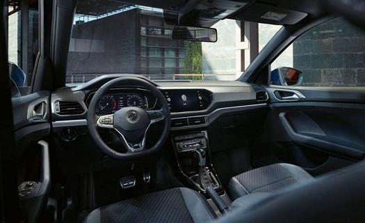 Interiér vozu Volkswagen T-Cross