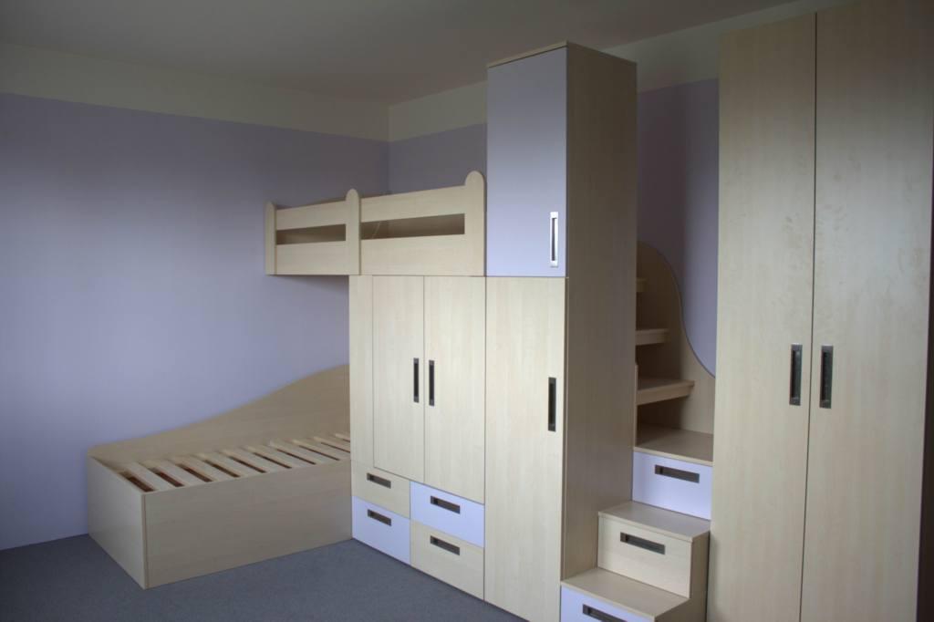 Stolařství Ostrava - výroba dětského pokoje, ložnice a veškerého nábytku na míru