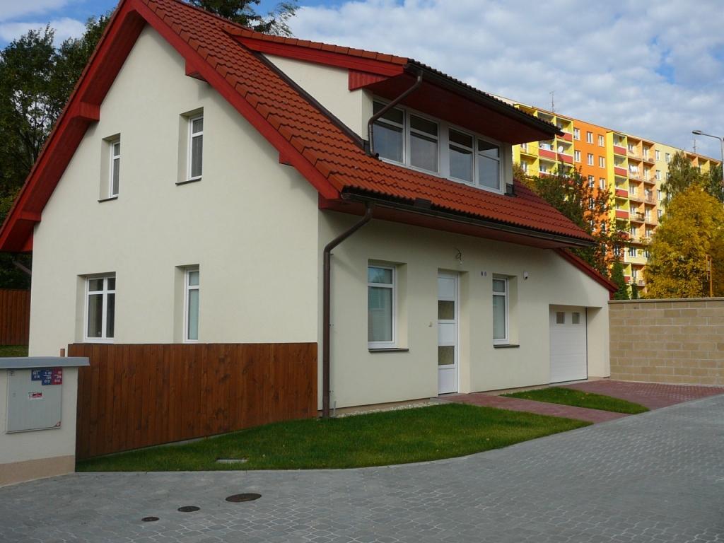Výstavba rodinných domů, domků, zajištění projektu, Ostrava