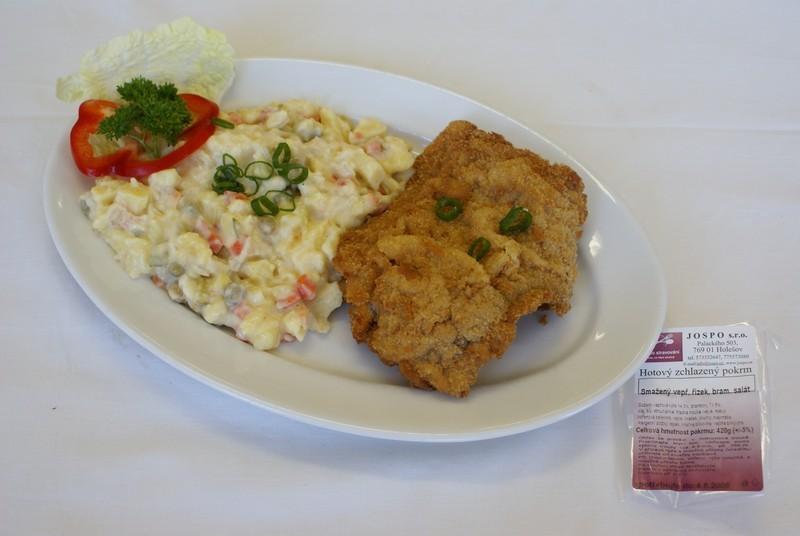 teplá jídla - rozvoz pro firmy Holešov, Přerov