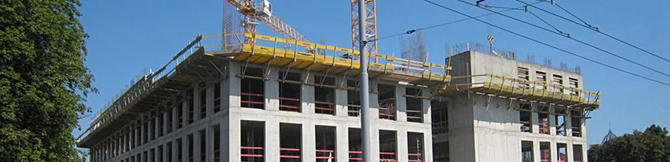 Stavební práce, monolitické železobetonové konstrukce, Morava
