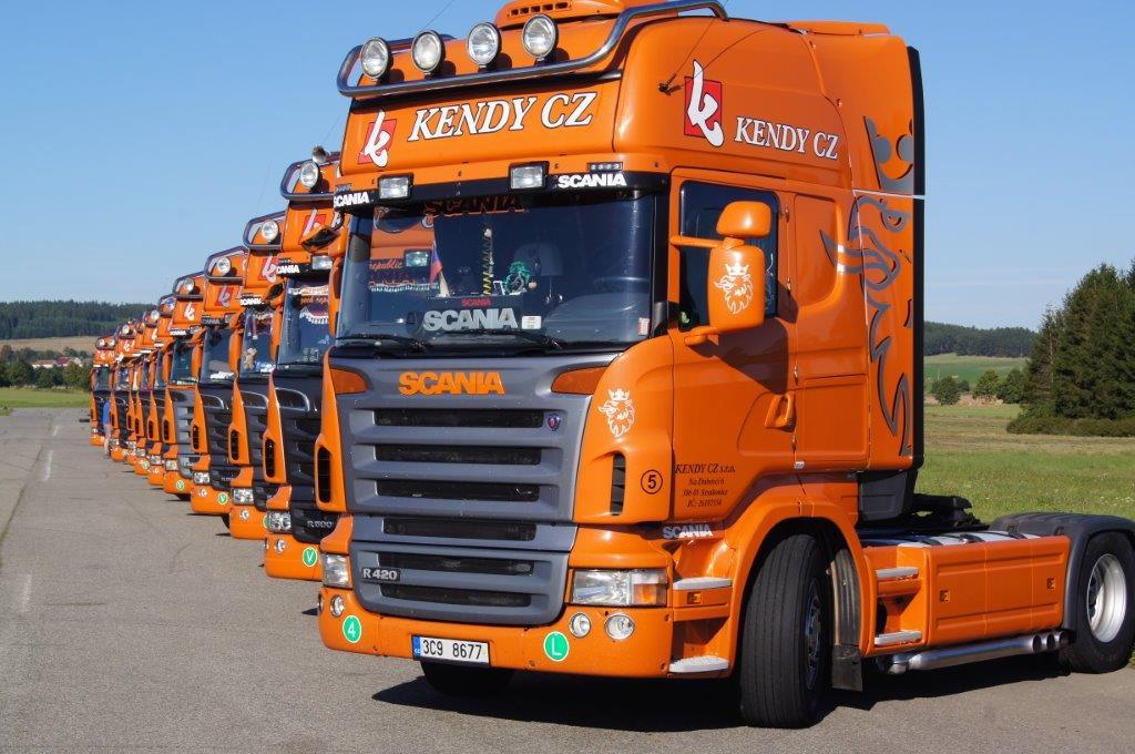 Mezinárodní přeprava chlazeného a mraženého zboží západní Evropě rychle a spolehlivě