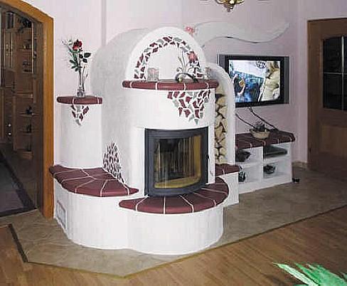 MK PROFI Kachlová kamna s.r.o., keramické kachle různých druhů, vzorů, glazur