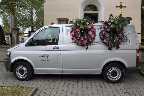 Převoz a svoz zesnulých po celé ČR