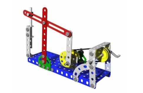 MERKUR, stavebnice pro pokusy a výuku mechaniky, elektromechaniky a fyziky na školách