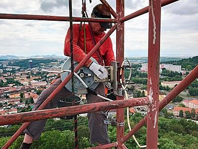 Výškové práce Petr Huňatý, mytí budov, kácení stromů, Plzeň