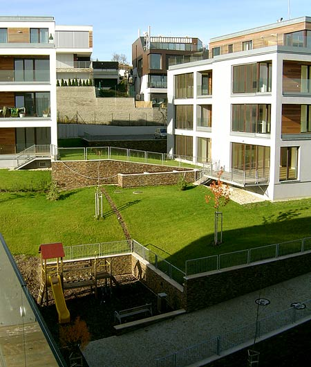 Údržba trávníků - sečení trávy