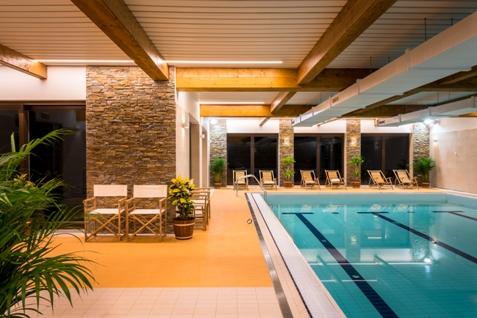 Wellness hotel s bazénem