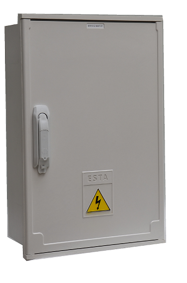 Plastové elektroměrové skříně pro přímé měření spotřeby elektrické energie