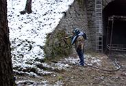 AQUA S.P.P., s.r.o., Litoměřice, čištění povrchu zdí mokrou bezprašnou cestou