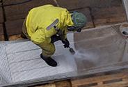 AQUA S.P.P., s.r.o., Litoměřice, opracování a očištění kovového materiálu abrazivním tryskáním
