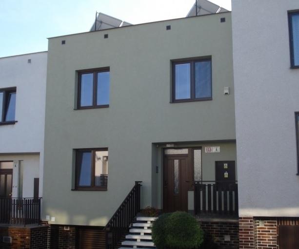 Dodávka,montáž plastových oken pro novostavbu rodinného domu