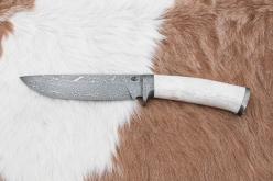 Myslivecké nože z damascenské oceli - zakázková výroba