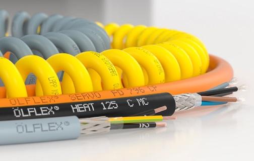 Velkoobchod průmyslových kabelů - ÖLFLEX průmyslové kabely připojovací, ovládací, flexibilní, instalační, jednožilové