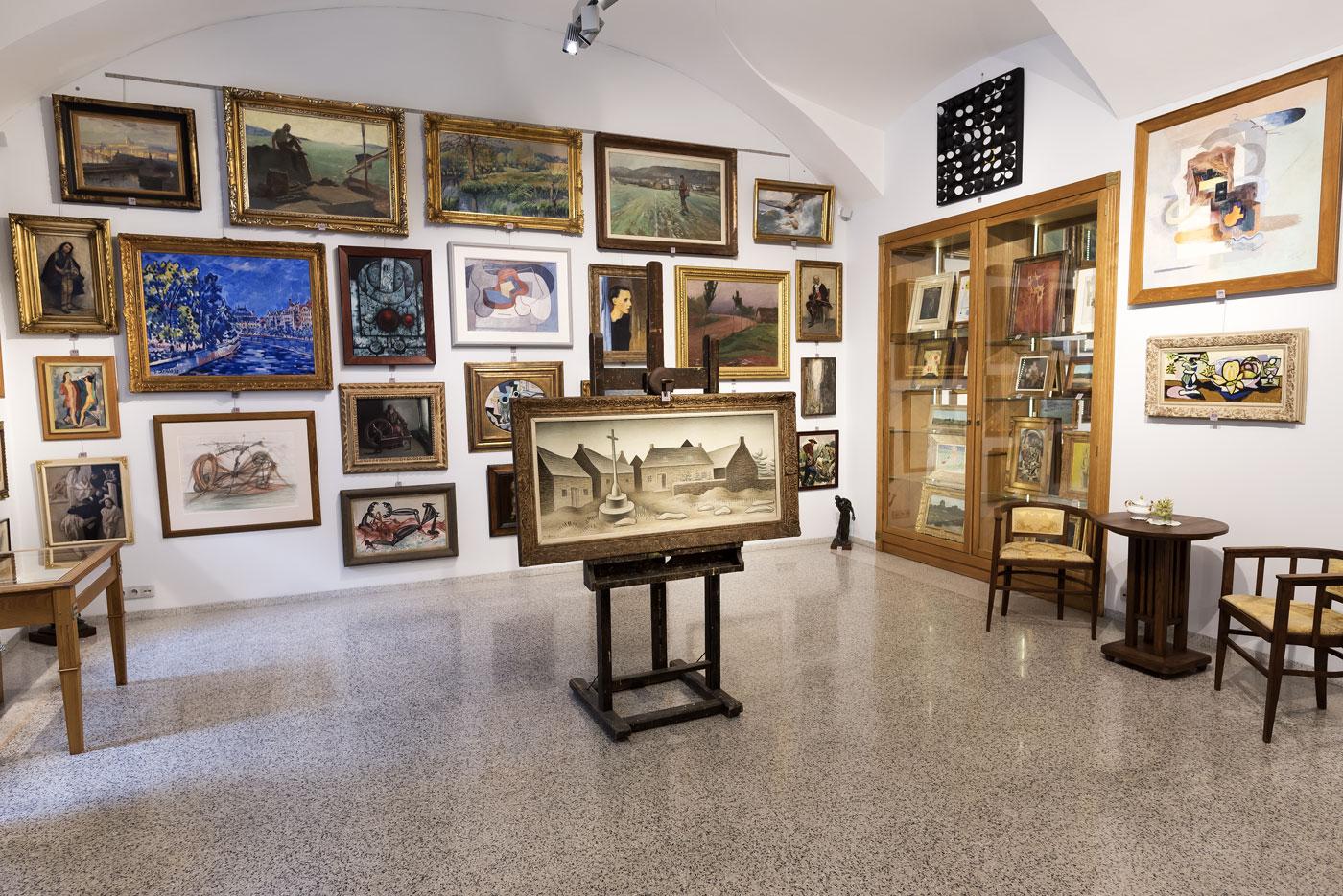 Výstava a aukce obrazů Praha