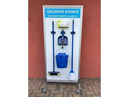 Mobilní úklidová stanice - prodej, eshop