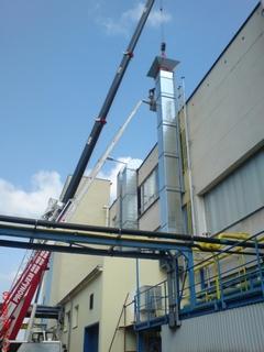Dodávky a servis vzduchotechnických prvků a potrubí