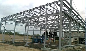 Zakázková kovovýroba Jičín - výroba a montáž ocelových konstrukcí
