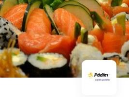 rozvoz sushi až domů - Zlín