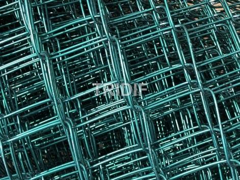 Výroba plotového pletiva Alu Green - bezúdržbové, pevné pletivo odolné proti korozi