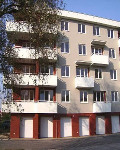 Revitalizace panelových domů, výstavba řadové domy Ostrava