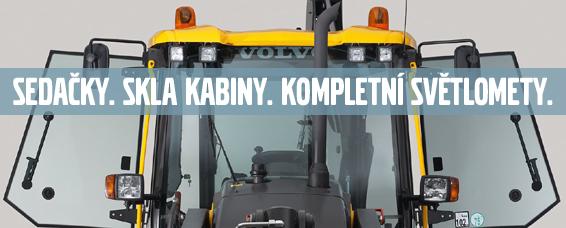 Prodejní akce náhradních dílů Volvo stavební stroje