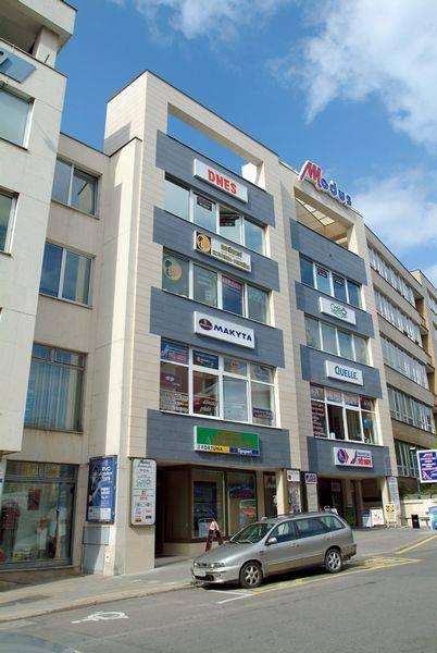 Obchodní dům Modus, obchody a služby Zlín