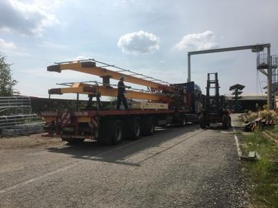 Mostové jeřáby do výrobní haly