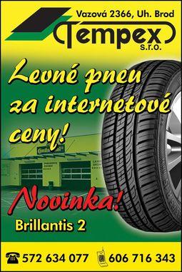Levné letní pneumatiky, Barum, Michelin, Matador Uherský Brod