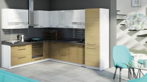Moderní kuchyňská linka dle představ