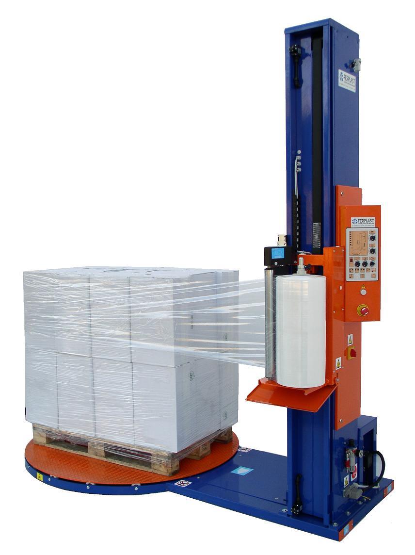 Stroje na ovíjení palet fólii