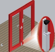 bezpečnostní interiérové dveře - Zlín, Rožnov pod Radhoštěm
