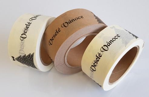 Recyklovatelné papírové lepící pásky
