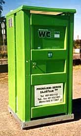 Výroba záchodů prodej WC pronájem kadibudek suché záchody Náchod