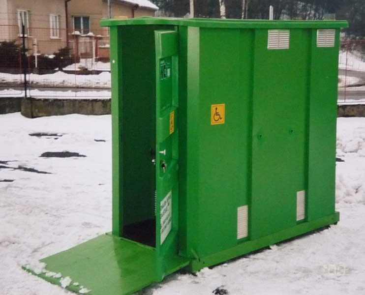 Prodej přenosných wc