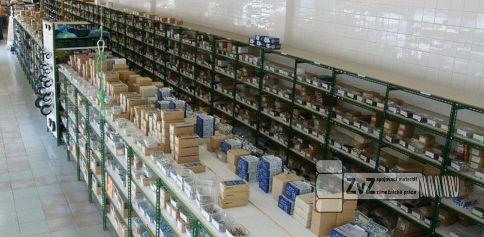 Specializovaná prodejna spojovacího materiálu, kotevní techniky ve Slušovicích