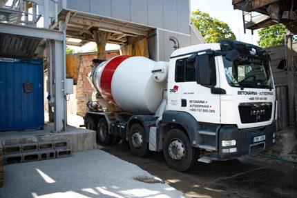 Betonárna s dovozem - certifikované betonové směsi, samonivelační potěry
