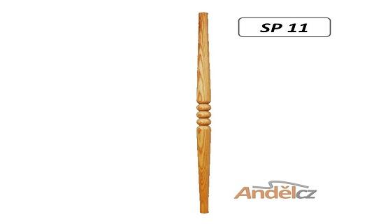 Dřevěné šprušle  -smrk, dub, jasan, buk - prodej, e-shop