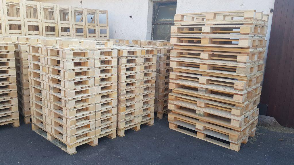 Kisten, Paletten, Holzverpackungen - Auftragsproduktion, Verkauf, die Tschechische Republik