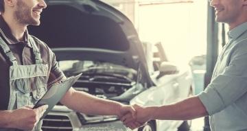 Profesionální  servis - oleje v motoru včetně filtru
