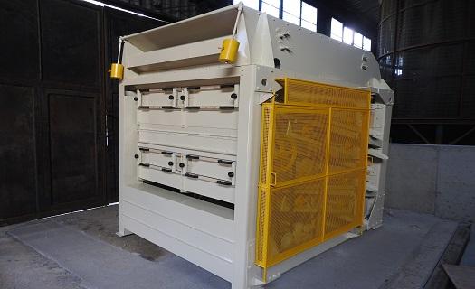 Výroba technologiií pro zpracování obilovin  - aspiratér