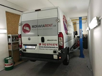 Kompletní autoservis užitkových vozů a dodávek všech značek i osobních aut