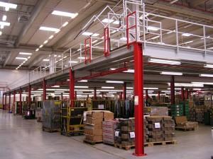 Skladové plošiny a montované ocelové konstrukce dodává Altic Point, Praha