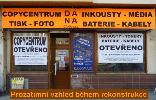 Polepy výloh a automobilů Praha