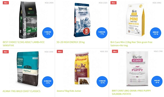 Prodej krmiva, pamlsky pro psy v eshopu - poradíme jaké jsou nejlepší granule pro psa
