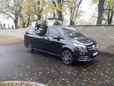 Objednání a sjednání pohřbu, převoz zesnulého, Rudná u Prahy