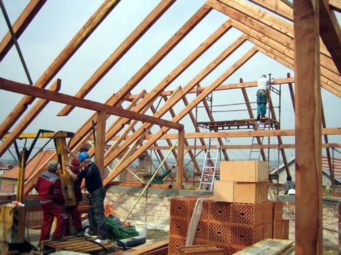 rekonstrukce krovů střechy