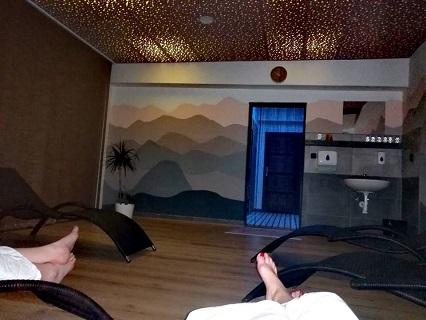 Relaxování ve finské sauně Havířov